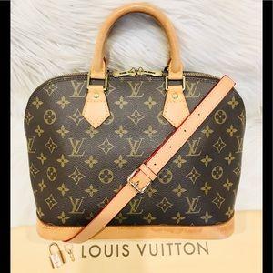 ON SALE!!! Authentic Louis Vuitton Alma #6.8 V
